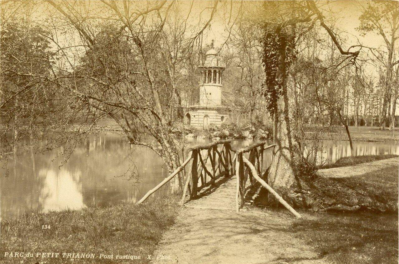 Парк Малого Трианона. Деревушка Марии-Антуанетты — Амо де ля Рен. Сельский мост