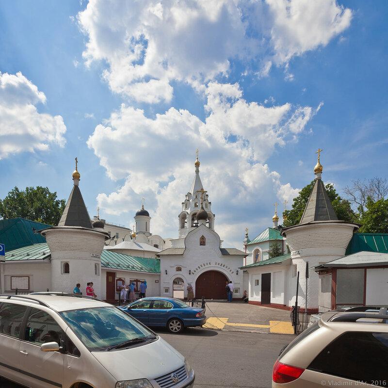 Подворье Афонского Пантелеймонова монастыря