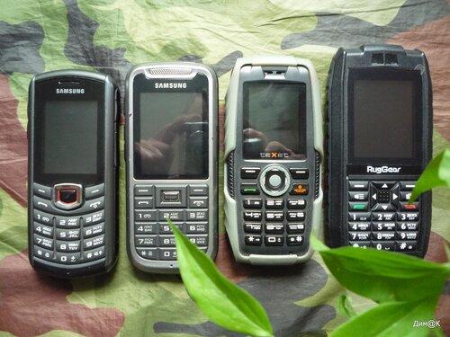 Samsung B2710, Samsung C3350, Texet TM-502R, RugGear Mariner RG128