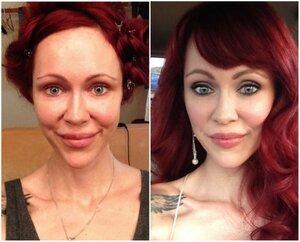 Насколько макияж девушки может изменить её внешность