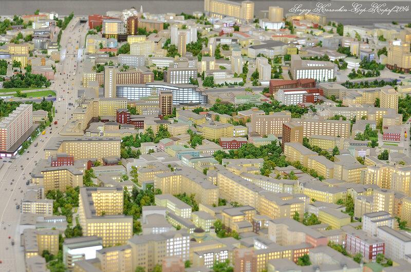 Москва в миниатюре
