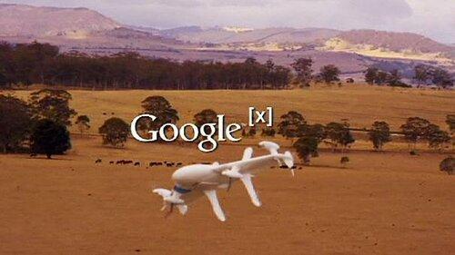Google испытал дрон