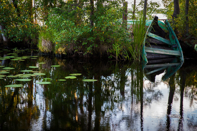рыбалка на удомельском озере