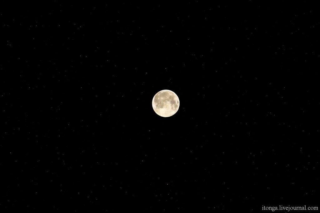Луна, Суперлуние,