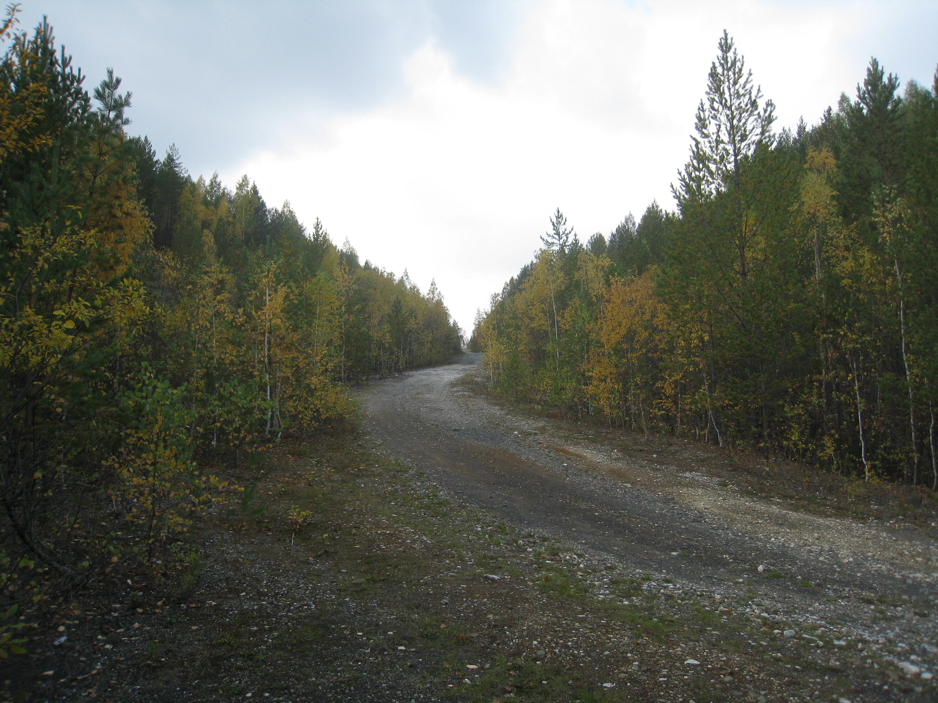 Дорога между Черемшанскими карьерами (24.03.2015)