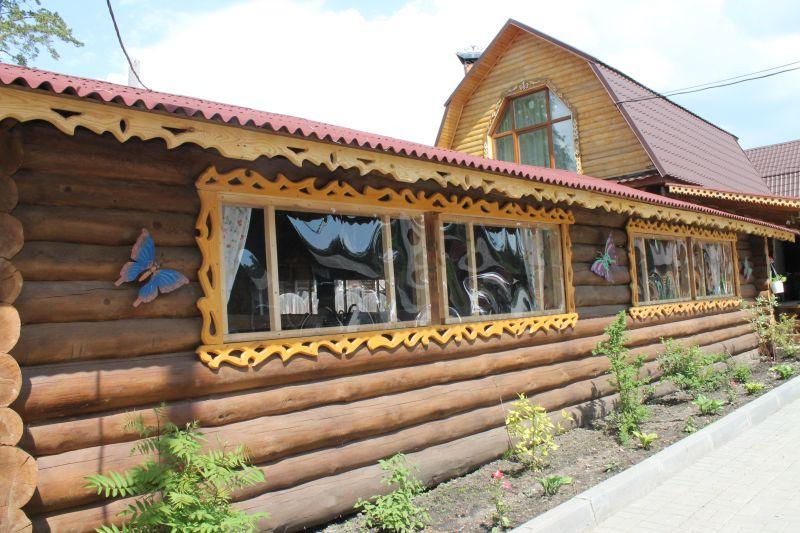 На территории базы работает кафе. (09.06.2015)