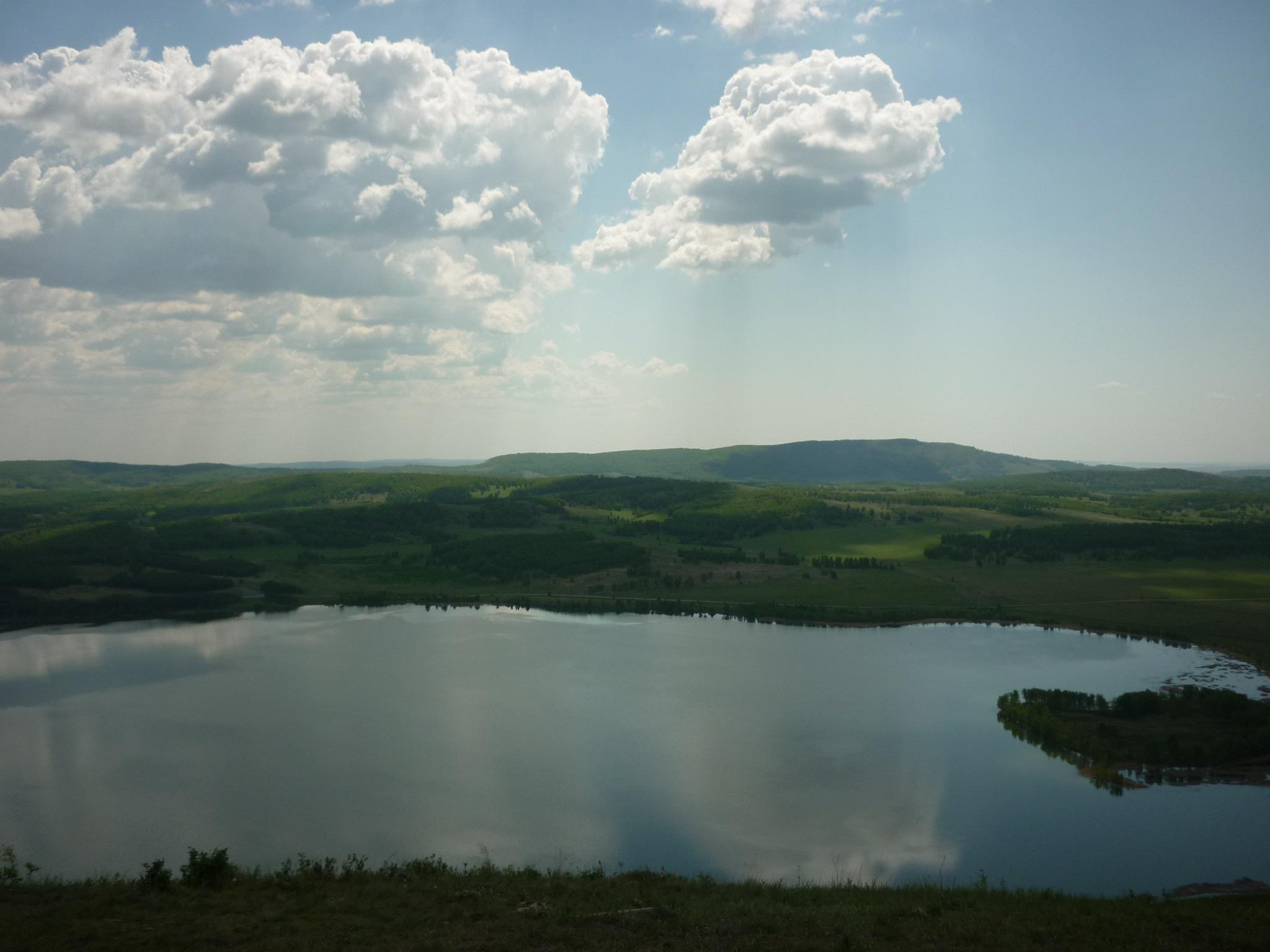 Озеро Аушкуль - красивое, тихое место  (03.07.2015)