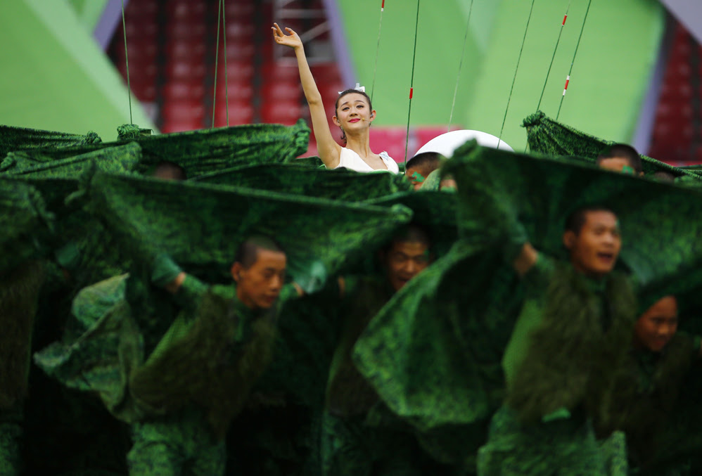 Красивые фотографии открытия XV чемпионата легкой атлетики в Пекине 0 13ff54 26da0480 orig