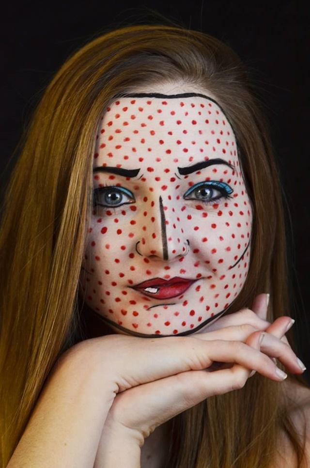 Девушка потрясающе меняет свое лицо с помощью макияжа 0 14224c 7347220a orig