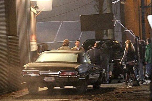 Фотографии со съемок 10 сезона «Сверхъестественного» (июль октябрь)