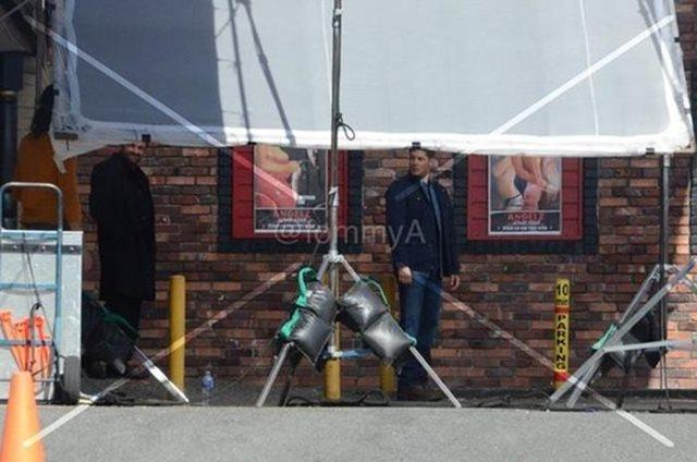Фотографии со съемок 10 сезона сериала «Сверхъестественное»