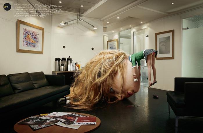 Фотограф Кристоф Уэ / Christophe Huet. Ретушь, манипуляции и прочий  Photoshopping. 40 фото