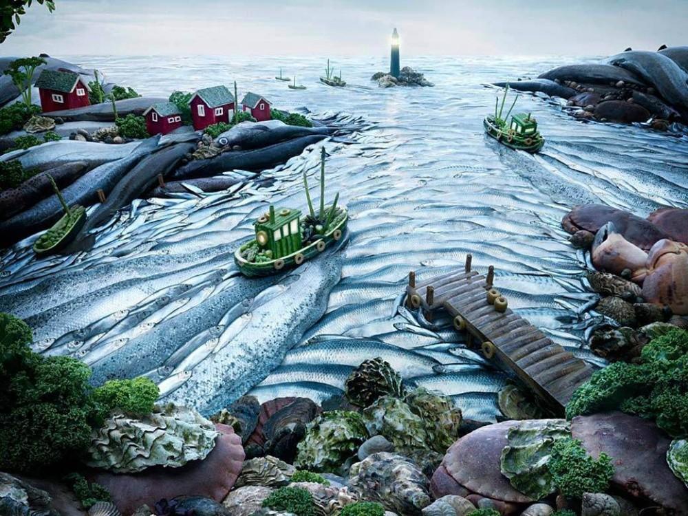 16. Рыбный порт