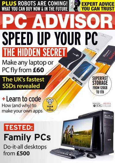 Журнал: PC Advisor №229 [UK] (август 2014) [En]