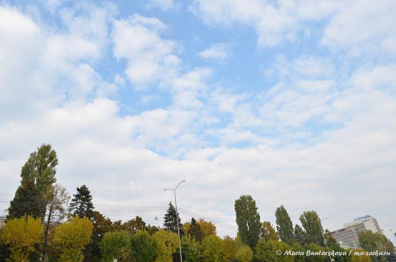 Волжские просторы, Саратов, Набережная Космонавтов, 12 октября 2014 года