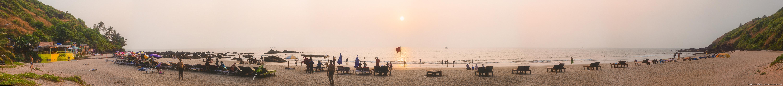 Пляжи Северного Гоа, Качала, Арамболь