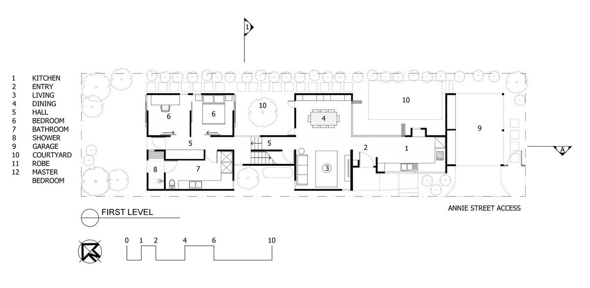 O'Neill Architecture, проекты узких домов, проекты домов для узких участков, узкие дома фото, самый узкий дом, дизайн узкого дома