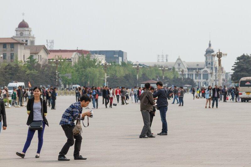 Площадь Тяньаньмэнь, Пекин