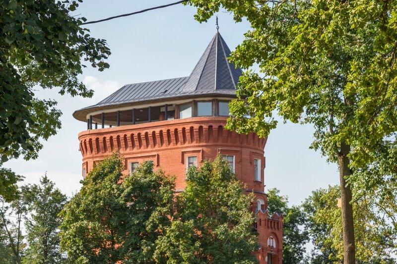 Водонапорная (Смотровая) башня, Владимир
