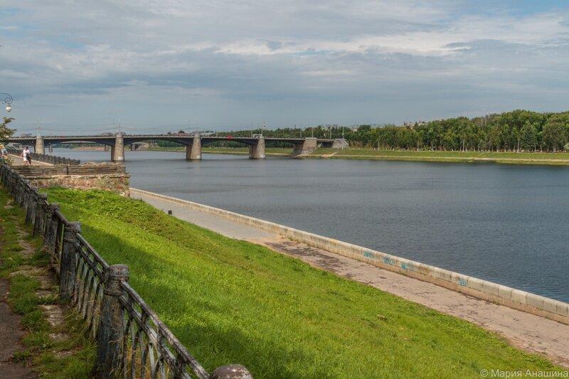 Нововолжский мост, Тверь