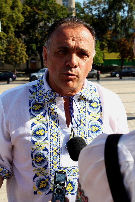 Игорь Добруцкий дает интервью