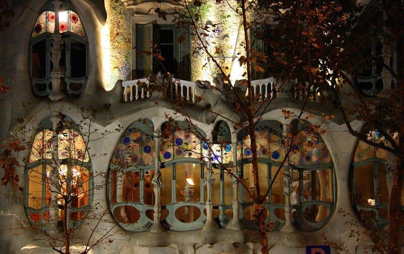 Как будто осень у Casa Batlló