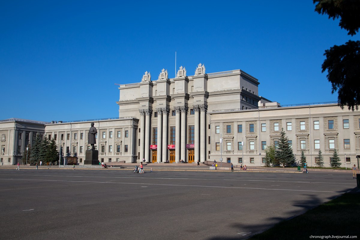 Площадь куйбышева в самаре фото