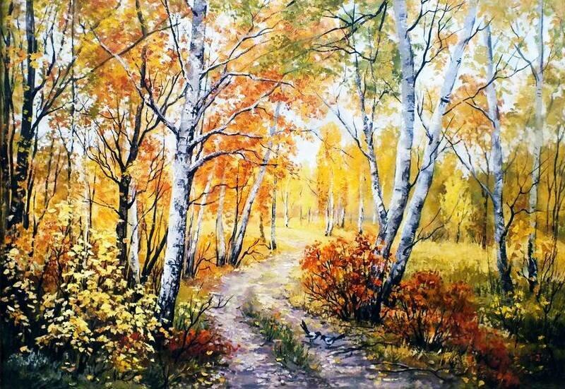 Пейзажи Татьяны Кулигиной