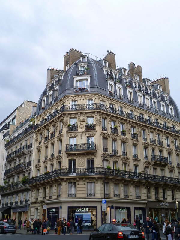 Франция, дом в Париже (France, a house in Paris)