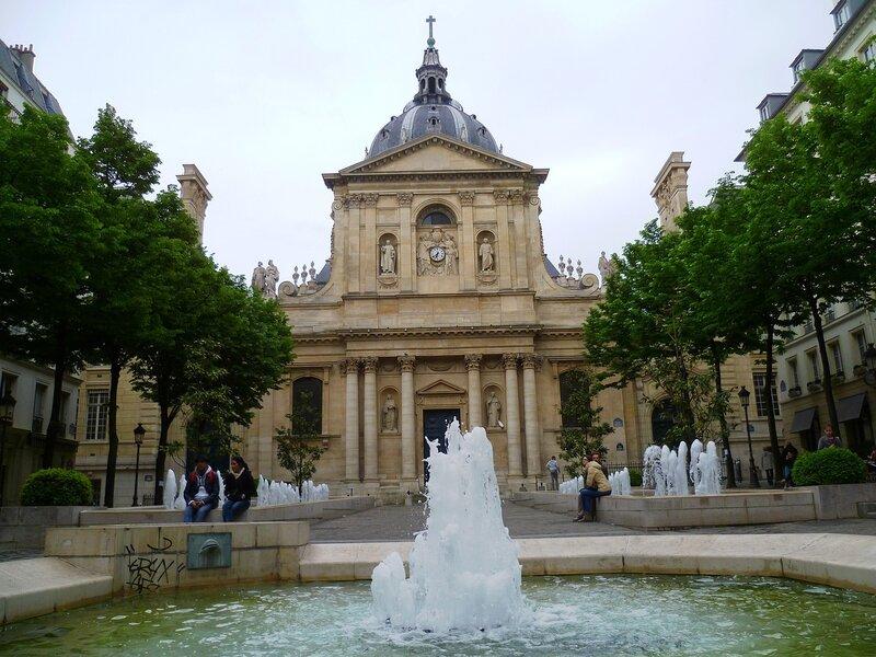 Париж, Сорбона (Paris, Sorbonne)