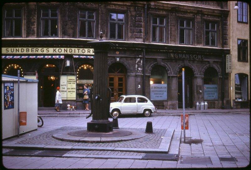 Oct 67 - 18 W4 Stockholm Skansen [Sundbergs Konditori, Jarntorget 83, Stockholm]