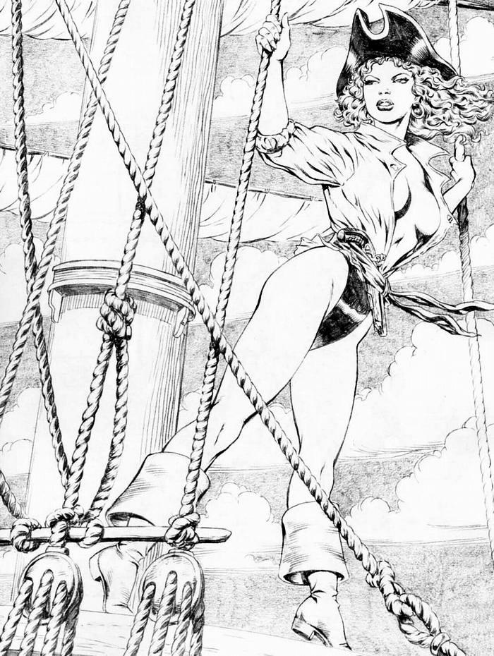 Графика: истории из жизни девушек - пираток (28)