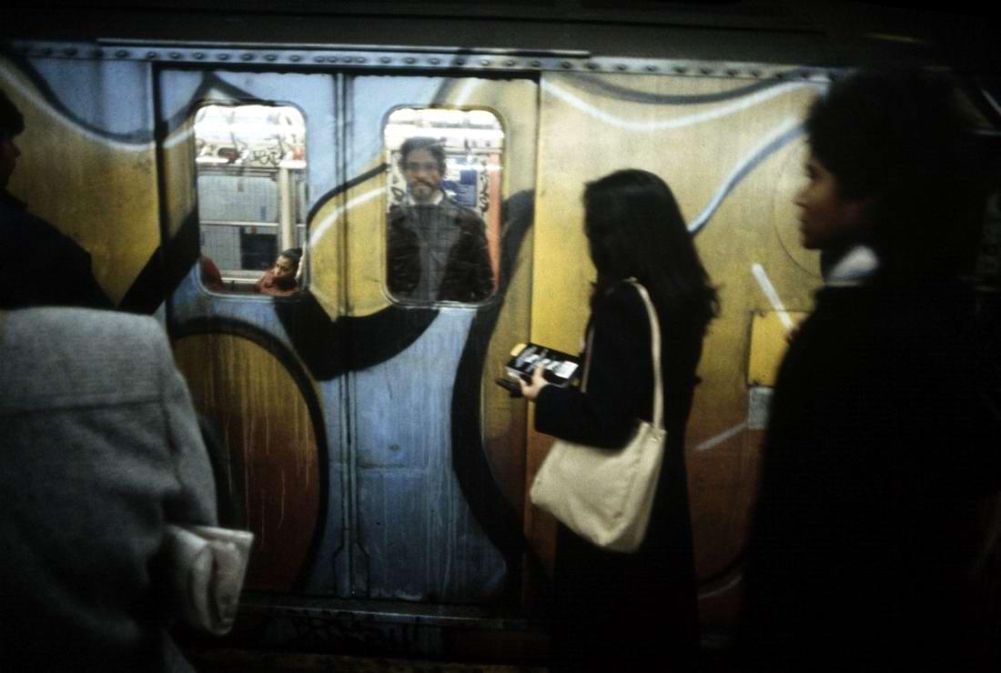 Американский фотограф Christopher Morris: Граффити и андеграунд нью-йоркского метро (27)