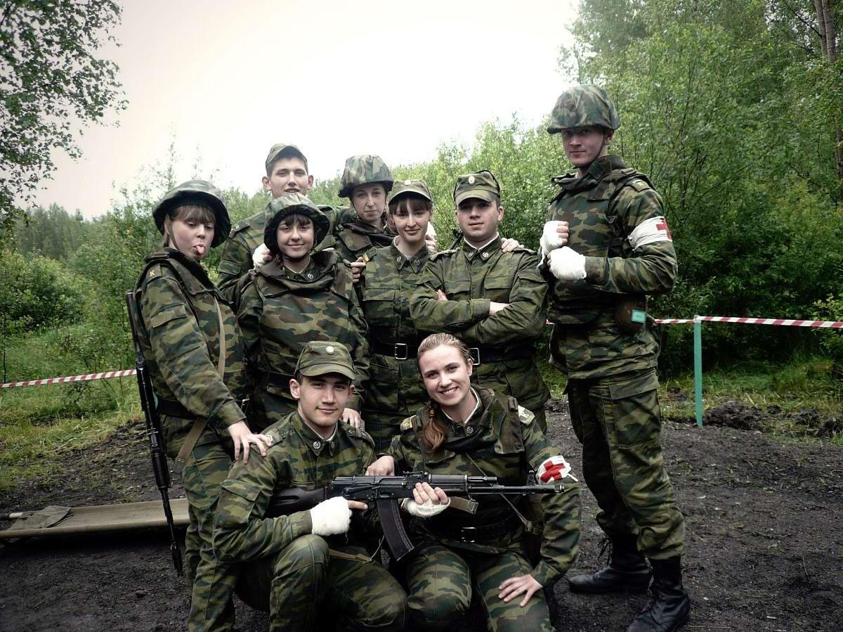 От тайги до британских морей ... : Лица девушек из Российской армии (30)