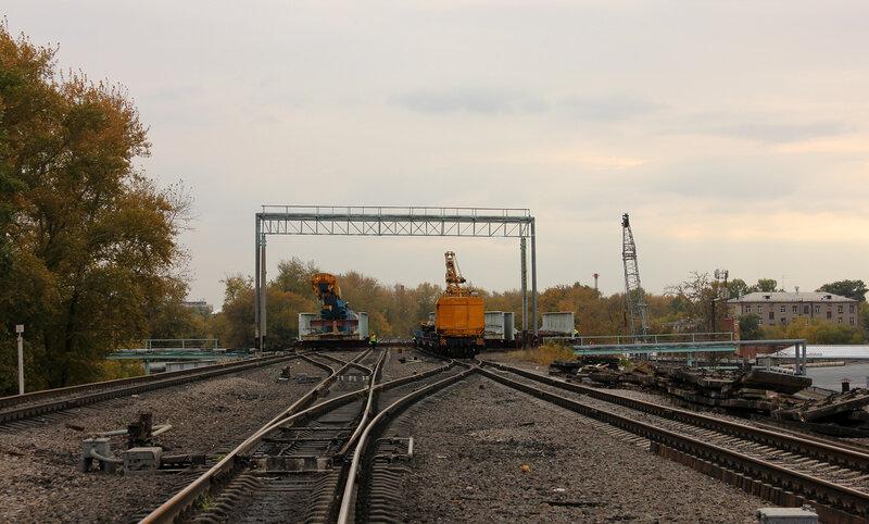 Реконструкция мостов над Горьковкой