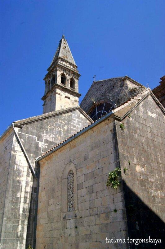 Главный храм Пераста - церковь Св.Николая