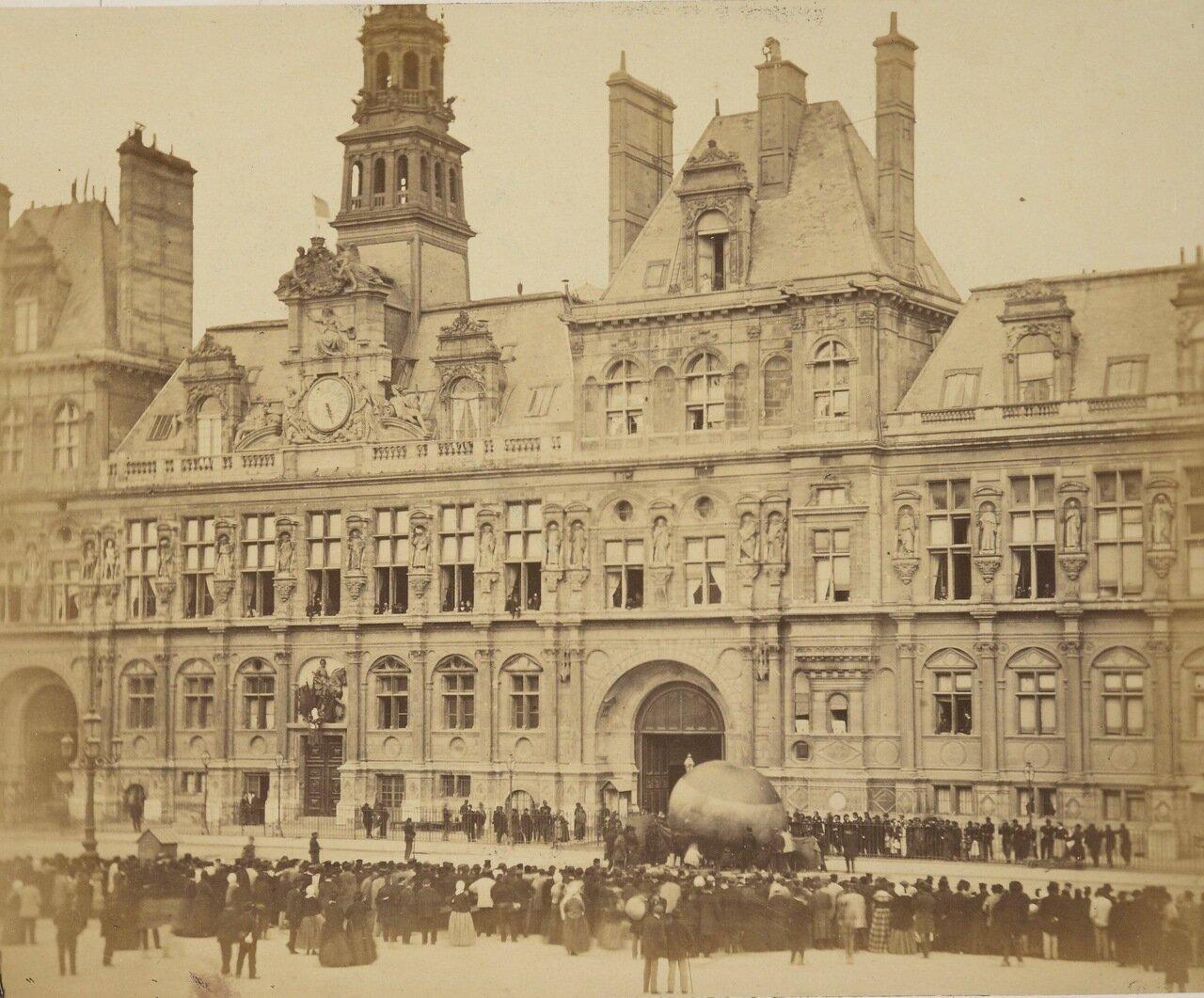 Парижская ратуша Отель-де-Виль