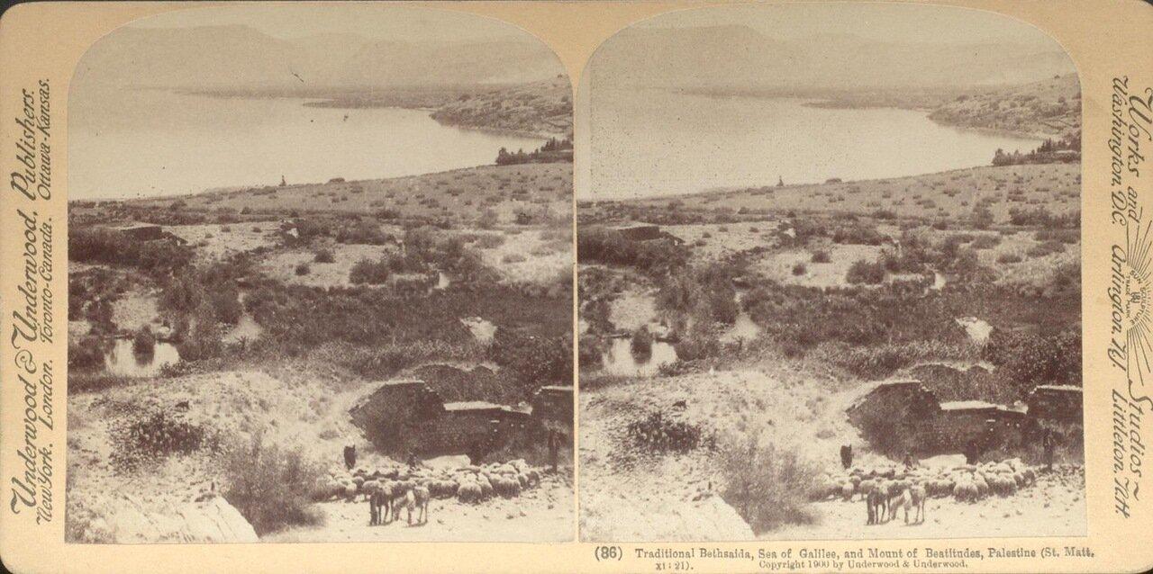 Вифсаида и Кенерет. 1900