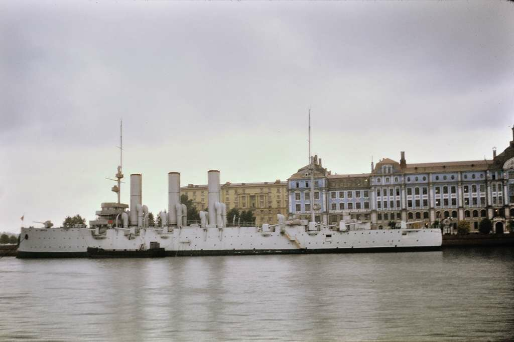 Cruiser Aurora, Leningrad.  9/26/68