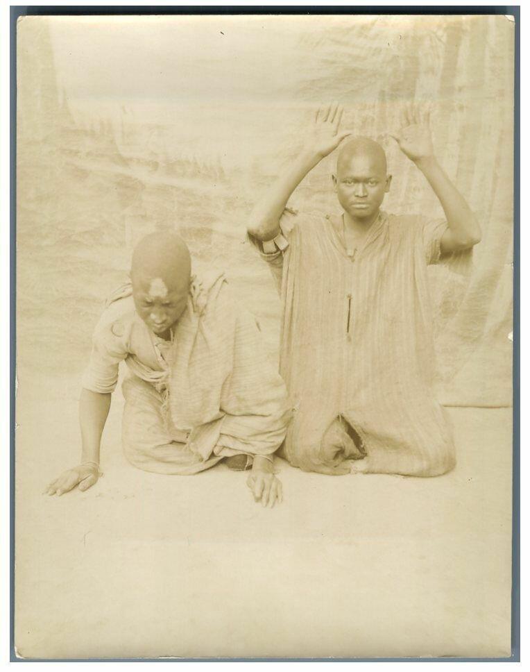 Туземные священнослужители. 1895