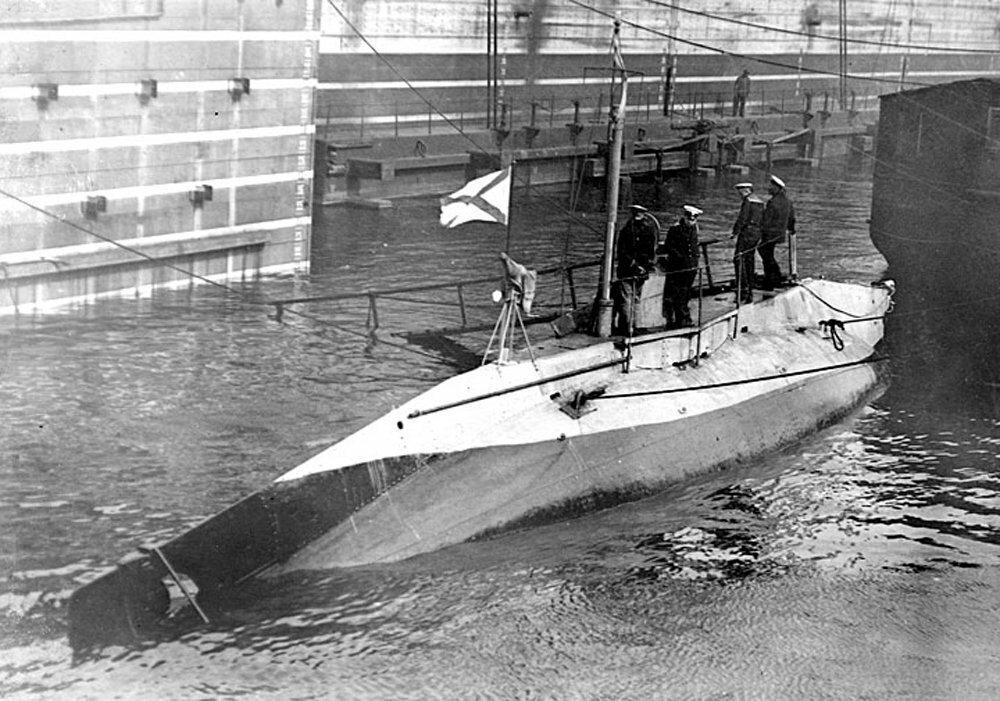 01. Подводная лодка Судак