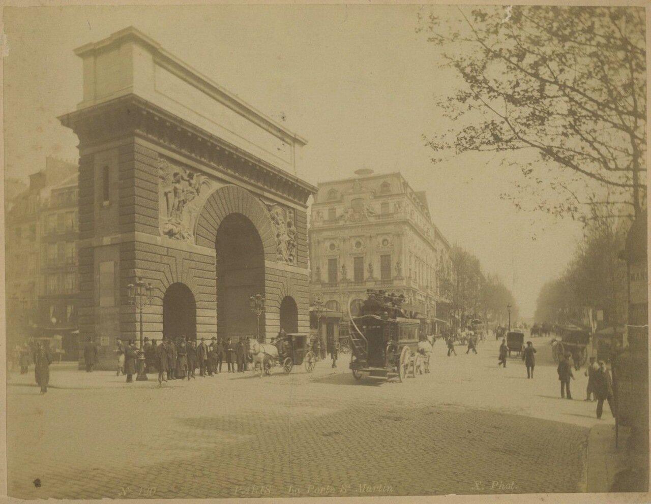 Порт Сен-Мартен  1875