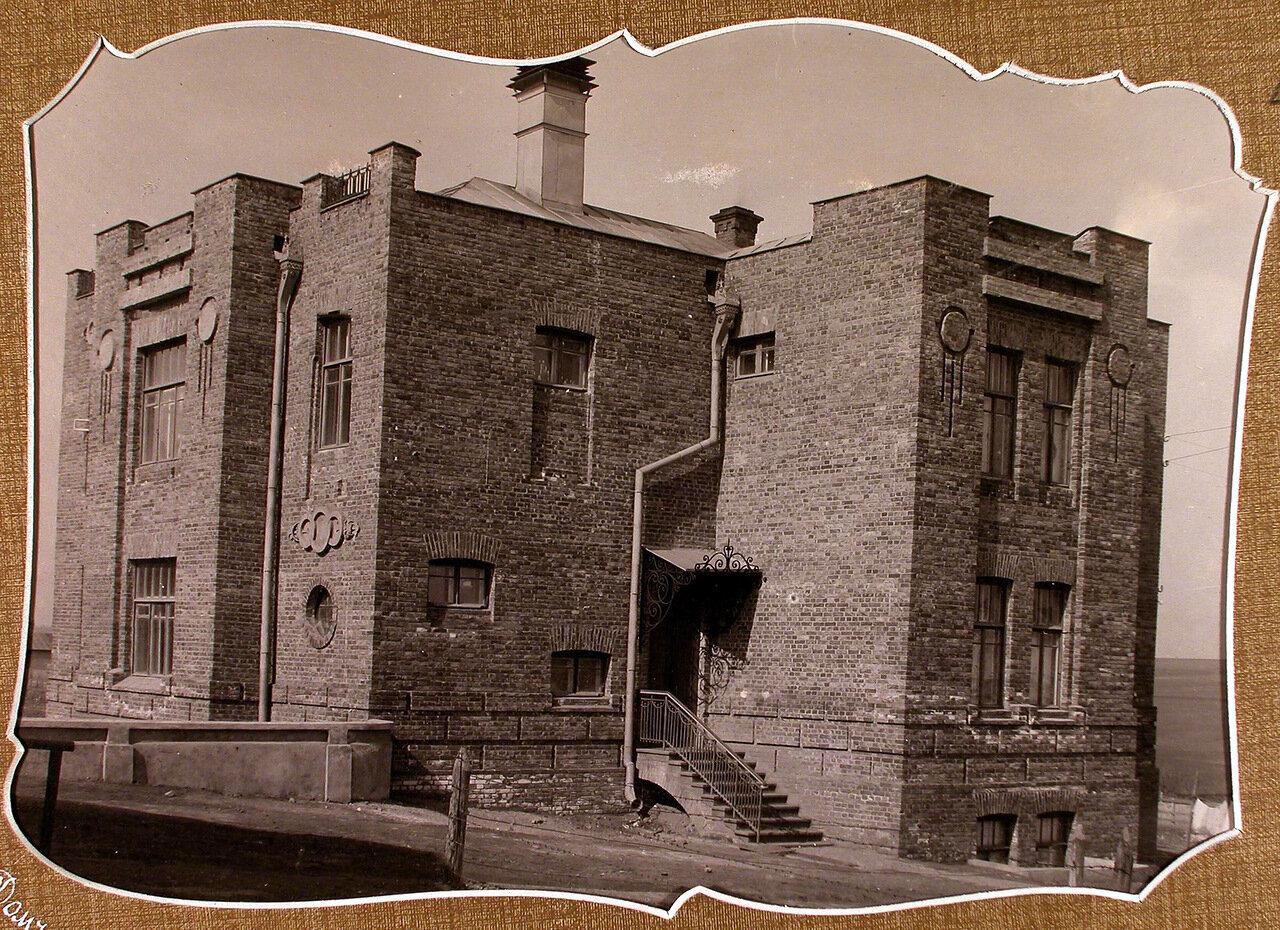 Вид дома, где находились администрация училища и хозяйственная служба