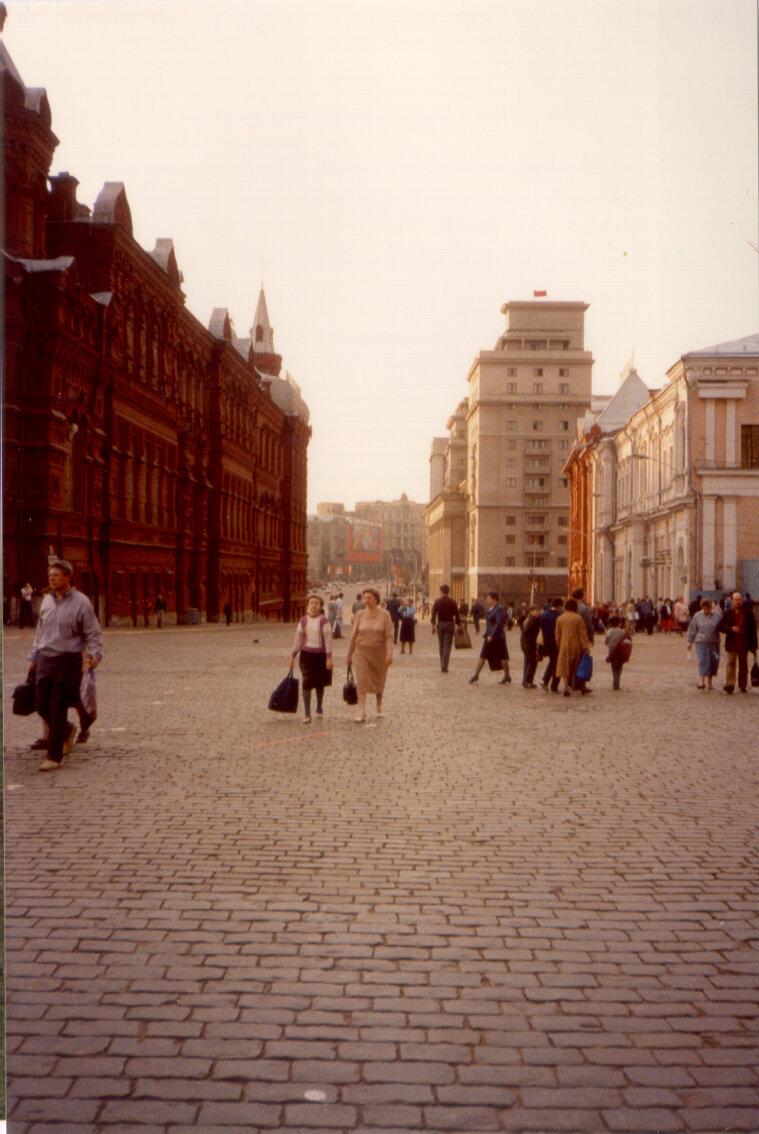 Неподалеку от Красной площади