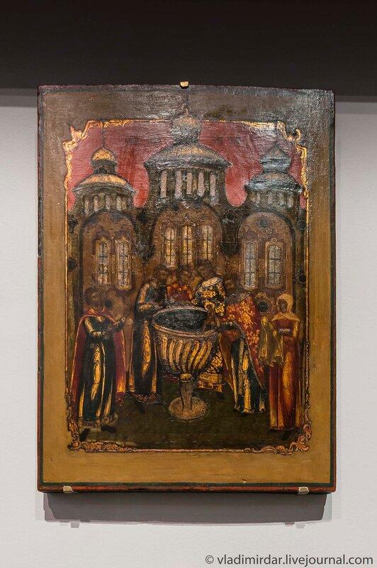 Крещение Варфоломея-Сергия