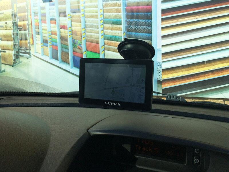 Навигатор SUPRA SNP-500