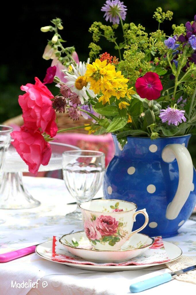 Смешные, картинки утро чай цветы