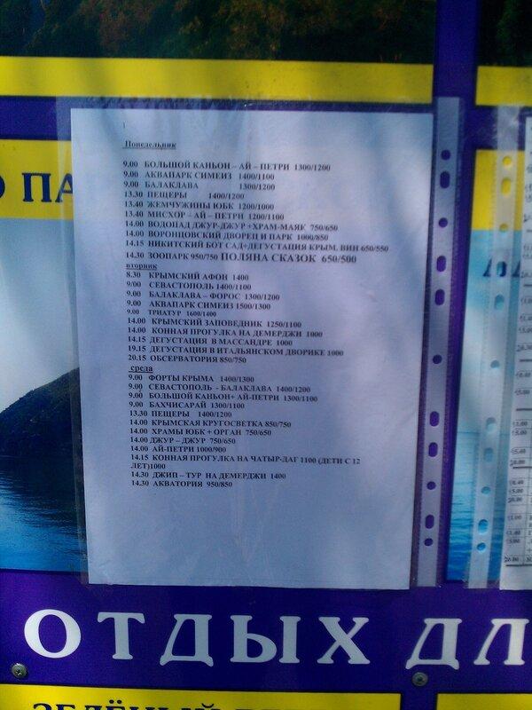Крым. Партенит