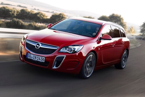 Обзор Opel Insignia 2014