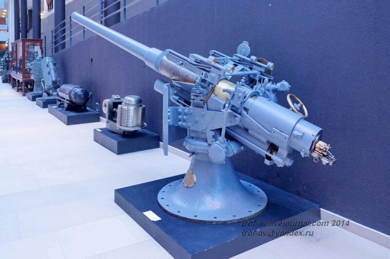 75-мм пушка системы Канэ, Центральный военно-морской музей, Санкт-Петербург